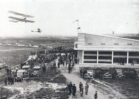 Inauguración del aeródromo de Barajas el 30 de abril de 1931